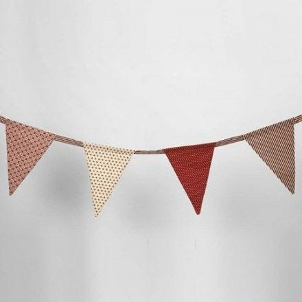 Bunting with Vivi Gade Design Fabric (the Copenhagen series)