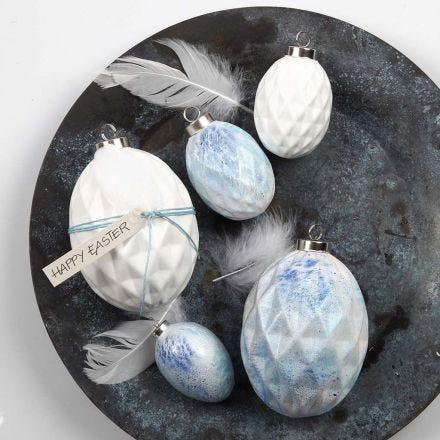 Spray-painted Terracotta Eggs