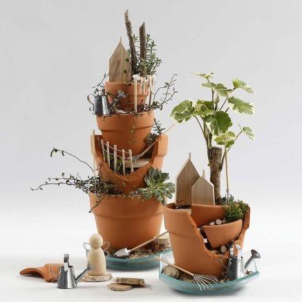 Jardín de hadas - jardín en miniatura