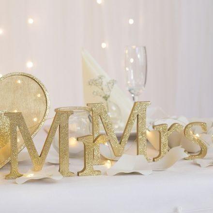 Decoraciones de mesa para boda