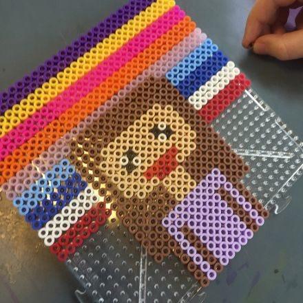 Pixel Art con cuentas de fusibles Nabbi
