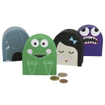 Cajas de dinero divertidas e imaginativas