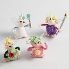 Figuras de poliestireno Foam Clay  y Silk Clay