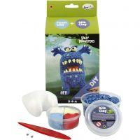 Funny Friend, Monstruo , azul, 1 set
