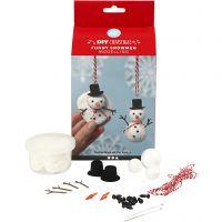 Muñeco de nieve divertido, 1 set