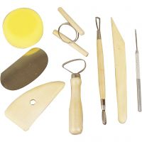 Kit de herramientas para cerámica, 8 ud/ 1 paquete