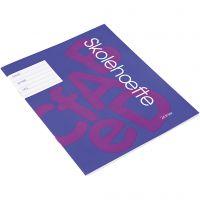 Libro de ejercicios escolares , A5, medidas 14,8x21 cm, 200 ud/ 1 paquete