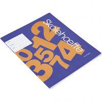Libro de ejercicios escolares , A5, medidas 14,8x21 cm, 64 , 200 ud/ 1 paquete