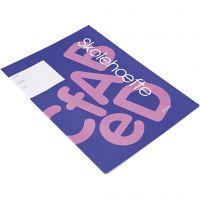 Libro de ejercicios escolares , A4, medidas 21x29,7 cm, 64 , 100 ud/ 1 paquete
