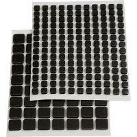 Foam 3D adhesivo, medidas 5x5x2 mm, negro, 217 stdas/ 1 paquete