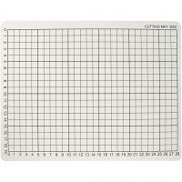 Base de corte, medidas 22x30 cm, grosor 3 mm, 1 ud