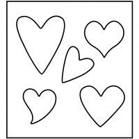Troquel de formas, Corazón, medidas 14x15,25 cm, grosor 15 mm, 1 ud