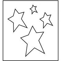 Troquel de formas, Estrellas, medidas 14x15,25 cm, grosor 15 mm, 1 ud