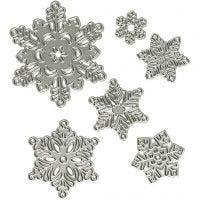 Cortador, Copo de nieve, dia: 2-6 cm, 1 ud