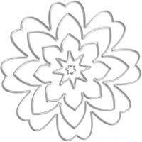 Cortador, Flor, dia: 0,5-8 cm, 1 ud