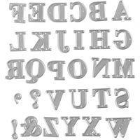 Cortador, Alfabeto, medidas 2x1,5-2,5 cm, 1 ud
