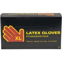 Guantes de látex, medidas x-large , 100 ud/ 1 paquete