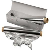 Papel de aluminio, A: 30 cm, 150 m/ 1 rollo