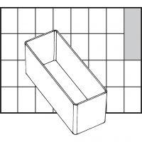 Caja interior de almacenaje, medida A9-2, A: 47 mm, medidas 109x39 mm, 1 ud
