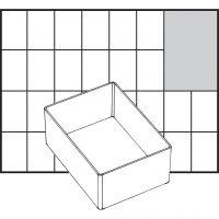 Caja interior de almacenaje, medida A7-1, A: 47 mm, medidas 109x79 mm, 1 ud