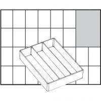 Caja interior de almacenaje, medida A73 Low, A: 24 mm, medidas 109x79 mm, 1 ud