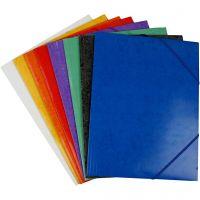 Carpeta de gomas, A4, 22,9×32,4 cm, 24 ud/ 1 paquete