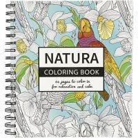 Libro para colorear, Natura, medidas 19,5x23 cm, 64 , 1 ud