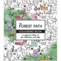 Libro para colorear, The Forest Path , medidas 19,5x23 cm, 64 , 1 ud