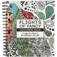 Libro para colorear, Flights of Fancy , medidas 19,5x23 cm, 64 , 1 ud