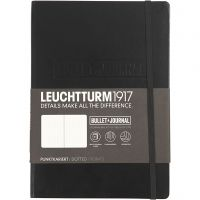 "Libreta ""Bullet Journal"", A5, grosor 2 cm, 206 , negro, 1 ud"