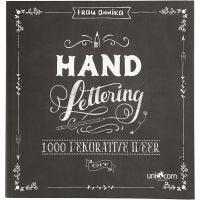 """Hand Lettering"" 1000 ideas, medidas 22x23 cm, grosor 2 cm, 143 , 1 ud"