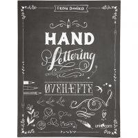 """""""Hand Lettering"""" Ejercicios, medidas 21x28 cm, grosor 1 cm, 63 , 1 ud"""