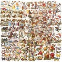 Cromos Vintage, Todo el año, 16,5x23,5 cm, 30 hoja/ 1 paquete