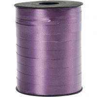 Cinta de plástico, A: 10 mm, glossy, morado, 250 m/ 1 rollo