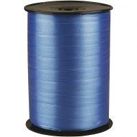 Cinta de plástico, A: 10 mm, glossy, azul, 250 m/ 1 rollo