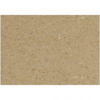 Cartón reciclado, A4, 210x297 mm, 225 gr, 10 hoja/ 1 paquete