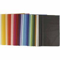 Papel de seda, 50x70 cm, 17 gr, 300 hoja/ 1 paquete