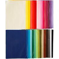 Papel de seda, A4, 210x297 mm, 17 gr, 30x10 hoja/ 1 paquete