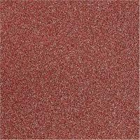 Glitter Film , A: 35 cm, grosor 110 my, rojo, 2 m/ 1 rollo