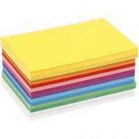 Cartulina verano, A6, 105x148 mm, 180 gr, surtido de colores, 120 hojas stdas/ 1 paquete
