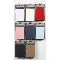 Tarjetas, medida tarjeta 10,5x15 cm, 220 gr, surtido de colores, 8x10 paquete/ 1 paquete