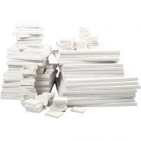 Lienzo, profundidad 2 cm, blanco, 300 ud/ 1 paquete