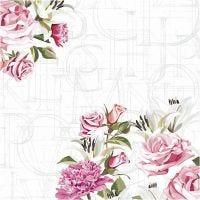 Servilletas, Rosas, medidas 33x33 cm, 20 ud/ 1 paquete