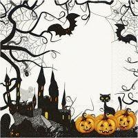 Servilletas, Halloween, medidas 33x33 cm, 20 ud/ 1 paquete