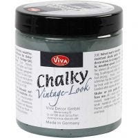 Pintura Chalky vintage look , verde oscuro (702), 250 ml/ 1 bote