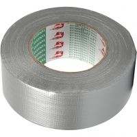 Cinta Adhesiva, A: 50 mm, plata, 50 m/ 1 rollo