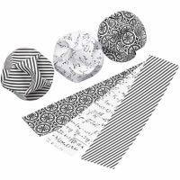 Adornos click, dia: 5 cm, medidas 3,5x8,8 cm, 9 set/ 1 paquete