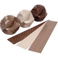 Adornos click, dia: 9 cm, medidas 5,5x28,4 cm, 9 set/ 1 paquete