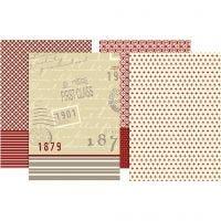 Decoupage Paper, 25x35 cm, 17 gr, 8 hojas stdas/ 1 paquete