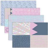 Decoupage Paper, 25x35 cm, 17 gr, 4x2 hoja/ 1 paquete